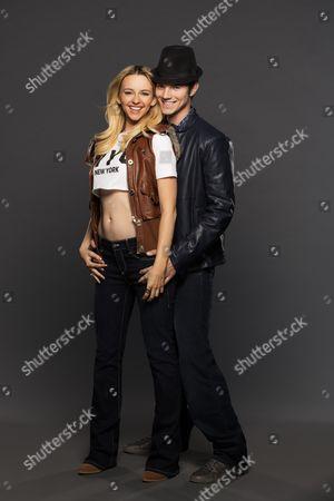Natasha Bassett [as Britney Spears], Nathan Keyes [as Justin Timberlake]