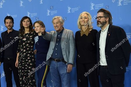Jury member Mexican actor Diego Luna, Jury member US actress Maggie Gyllenhaal,  Jury member German actress Julia Jentsch,  Jury President Dutch director Paul Verhoeven,  Jury member Tunisian producer Dora Bouchoucha Fourati, Jury member Icelandic artist Olafur Eliasson