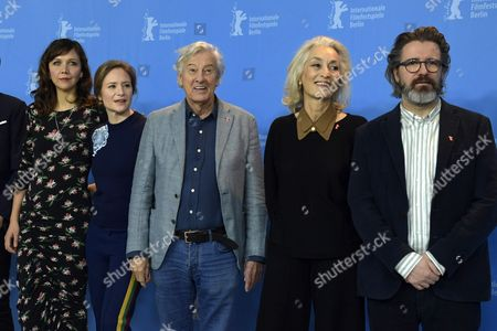 Jury member US actress Maggie Gyllenhaal,  Jury member German actress Julia Jentsch,  Jury President Dutch director Paul Verhoeven,  Jury member Tunisian producer Dora Bouchoucha Fourati, Jury member Icelandic artist Olafur Eliasson