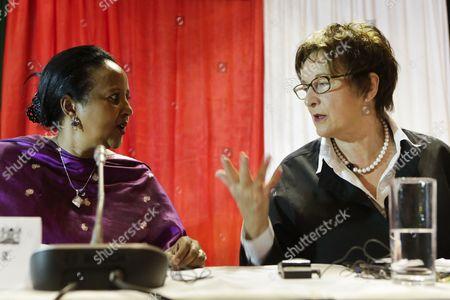 Amina Mohamed and Brigitte Zypries