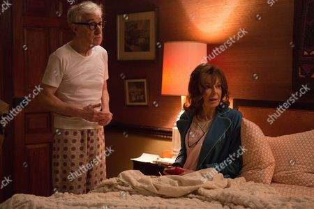 Stock Photo of Woody Allen, Elaine May