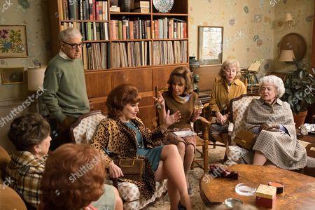 From Left: Woody Allen, Joy Behar, Elaine May