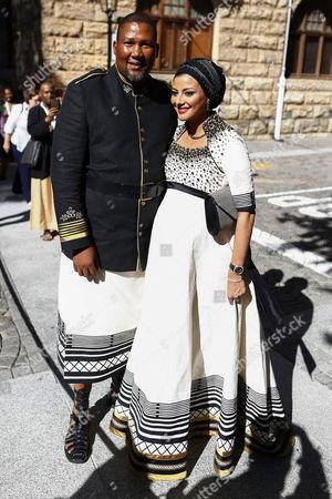 Mandla Mandela and Thando Mabunu