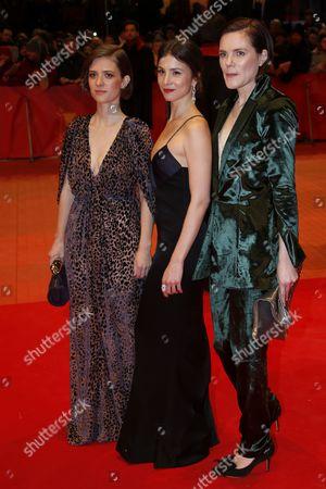 Fritzi Haberlandt, Aylin Tezel and Liv Lisa Fries
