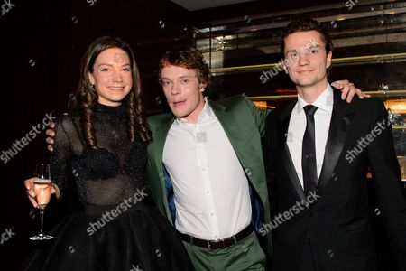 Stock Image of Kate Maberly and Alfie Allen
