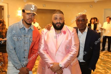 Chance The Rapper, DJ Khaled and L.A. Reid
