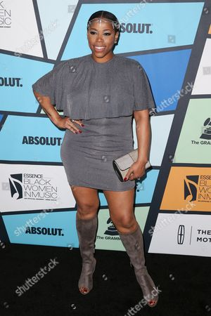 Editorial picture of Essence Black Women in Music, Arrivals, Los Angeles, USA - 09 Feb 2017