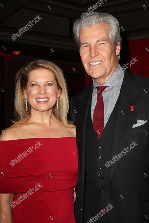 Stock Photo of Tina Stephan and Terry J. Lundgren