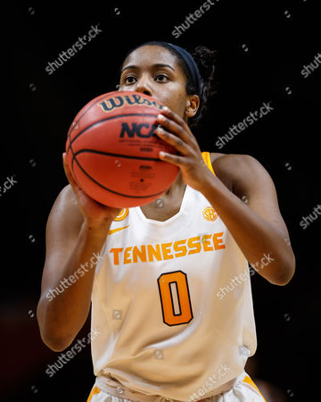 Jordan Reynolds #0 of the Tennessee Lady Volunteers shoots a free throw during the NCAA basketball game between the University of Tennessee Lady Volunteers and the University of Missouri Tigers at Thompson Boling Arena in Knoxville TN Tim Gangloff/CSM