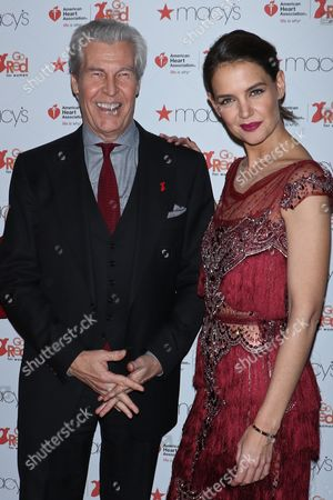 Terry J. Lundgren, CEO, Chairman of the Board, President, and Director at Macy's, Inc and Katie Holmes