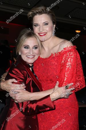 Maureen McCormick and Lucy Lawless