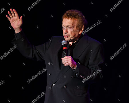 Editorial image of Jackie Mason performs at The Parker Playhouse, Fort Lauderdale, USA - 09 Feb 2017
