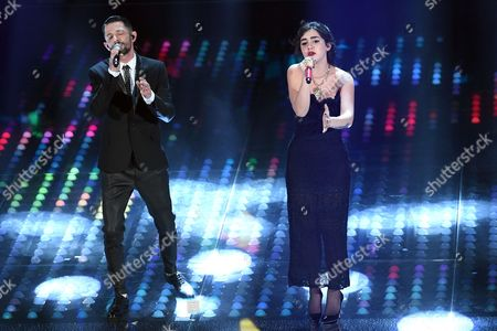 Editorial photo of Evening concert, 67th Sanremo Music Festival, Italy - 09 Feb 2017