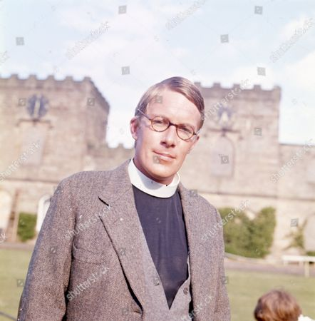 Stock Photo of Nicholas Pennell (as the Vicar)