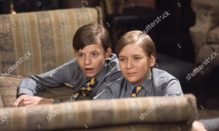 Stock Image of Alan Guy (as Jonathan Flaxton) and John Ash (as William Pickford)