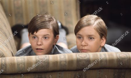 Stock Photo of Alan Guy (as Jonathan Flaxton) and John Ash (as William Pickford)