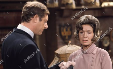 Stock Picture of Victor Winding (as Benjamin Sweet) and Veronica Hurst (as Lady Jane Flaxton)
