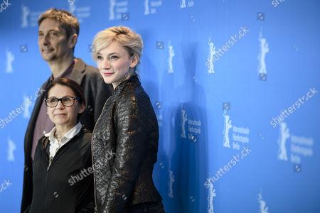 Geza Morcsanyi, Ildiko Enyedi and Alexandra Borbely