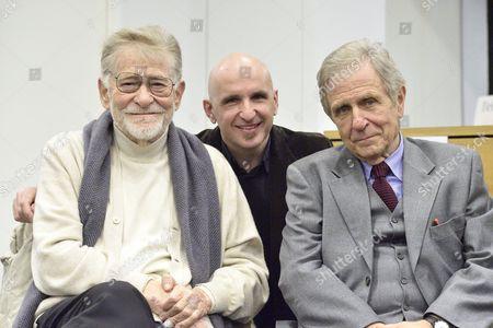Ermanno Olmi, Giacomo Gatti and Marco Garzonio