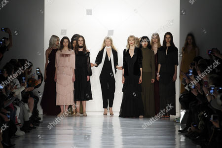 Erin Fetherston on the catwalk