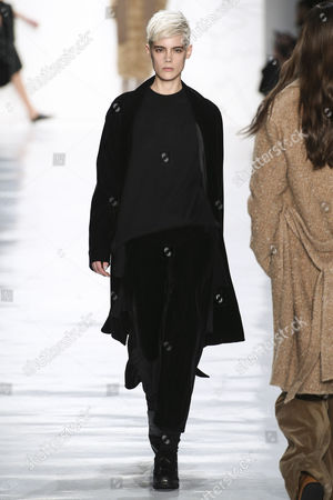 Editorial picture of Noon By Noor show, Runway, Fall Winter 2017, New York Fashion Week, USA - 09 Feb 2017