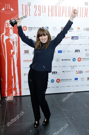 Stock Image of Camilla Hjelm Knudsen who was Honored with the Award As European Cinematographer 2016 Prix Carlo Di Palma For the Film 'Land of Mine' During the 29th European Film Awards Ceremony in Wroclaw Poland 10 December 2016 the Awards Are Presented Annually by the European Film Academy to Recognize Excellence in European Cinema Poland Wroclaw