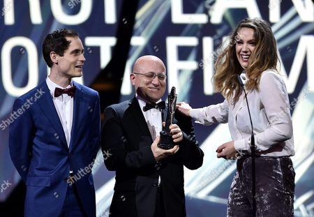 Editorial photo of Poland European Film Awards - Dec 2016