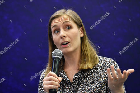 Stock Photo of Canadian-born New Zealand Author Eleanor Catton Attends a Meeting with Readers at the 8th Conrad Festival in Cracow Poland 29 October 2016 (issued 30 October) the Leading Motif of This Year's Edition of the Literary Festival is 'Intensity Understood Both As Passion and Unwavering Commitment to the Common Matter of Culture ' Poland Cracow