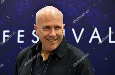 Stock Image of Australian Novelist Richard Flanagan Attends a Meeting with Readers at the 8th Conrad Festival in Cracow Poland 29 October 2016 (issued 30 October) the Leading Motif of This Year's Edition of the Literary Festival is 'Intensity Understood Both As Passion and Unwavering Commitment to the Common Matter of Culture ' Poland Cracow