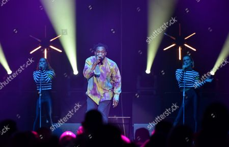 Nigerian-born Swedish Musician Dr Alban Performs on Stage During the '90s Live in Concert' at the Ergo Arena in Gdansk Poland 09 December the Concert Features Some of the Biggest Stars From 90s Dance Music Poland Warsaw