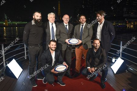 Editorial picture of World Rugby Cup 2023 Press conference, Paris, France - 09 Feb 2017