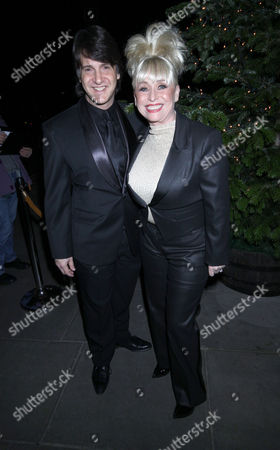 Stock Picture of Barbara Windsor and husband Scott
