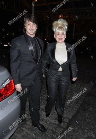 Stock Photo of Barbara Windsor and husband Scott