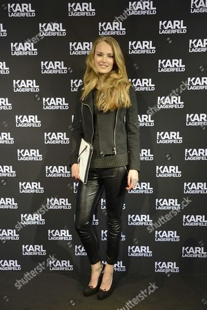 Stock Photo of Dutch Model Ymre Stiekema Attends the Opening of the First Karl Lagerfeld Store in Amsterdam the Netherlands 23 April 2013 the Store is Part of an International Rollout of Store Openings After the Paris Store Which Opened on 28 February 2013 Additional Locations Are Set to Open Throughout 2013 in Other Major European Cities Followed by an Expansion Still This Year Into the Asian Market Netherlands Amsterdam
