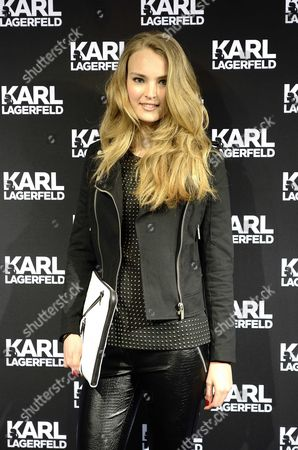 Dutch Model Ymre Stiekema Attends the Opening of the First Karl Lagerfeld Store in Amsterdam the Netherlands 23 April 2013 the Store is Part of an International Rollout of Store Openings After the Paris Store Which Opened on 28 February 2013 Additional Locations Are Set to Open Throughout 2013 in Other Major European Cities Followed by an Expansion Still This Year Into the Asian Market Netherlands Amsterdam