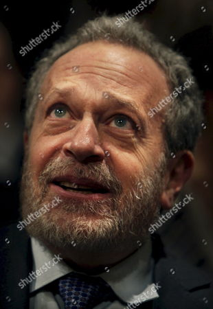 Us Economist and Former Us Minister of Social Affaires Robert Reich Speaks During the Presentation of His Book 'Supercapitalism' in the Hague Netherlands 14 January 2008 Netherlands the Hague