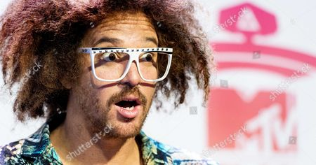 Host of Ceremony Us Singer of Lmfao Stefan Kendal Gordy Aka Redfoo Poses For Photographs During the Press Conference For the Mtv Europe Music Awards 2013 at the Ziggo Dome in Amsterdam the Netherlands 09 November 2013 the Award Ceremony Will Take Place on 10 November Netherlands Amsterdam