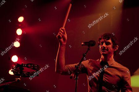 Stock Photo of Belgian-australian Singer-songwriter Gotye (also Known As Wouter De Backer) Performs in the Heineken Music Hall in Amsterdam the Netherlands 10 November 2012 Netherlands Amsterdam
