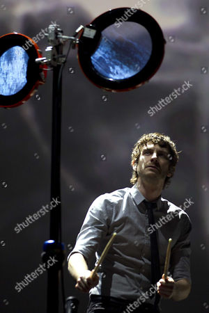 Stock Image of Belgian-australian Singer-songwriter Gotye (also Known As Wouter De Backer) Performs in the Heineken Music Hall in Amsterdam the Netherlands 10 November 2012 Netherlands Amsterdam