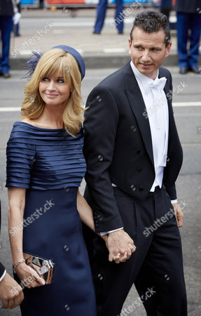 Stock Photo of Former Dutch Tennis Ace Richard Krajicek (r) and His Wife Daphne Deckers Arrive For the Investiture of New Dutch King Willem-alexander at the Nieuwe Kerk in Amsterdam the Netherlands 30 April 2013 Her Royal Highness Princess Beatrix of the Netherlands in an Official Act Earlier on 30 April Signed Her Abdication to Leave the Dutch Throne to Her Son Prince Willem-alexander who Became the New King of the Netherlands the Same Day King Willem-alexander Becomes the First Male Monarch in the Country in 123 Years Netherlands Amsterdam