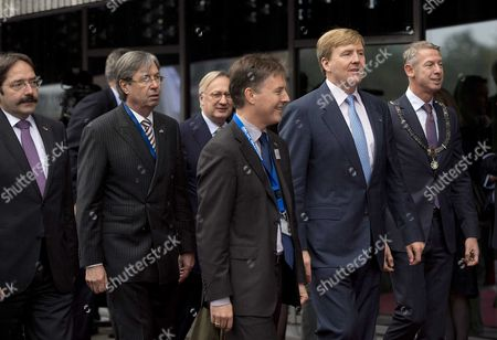 Editorial picture of Netherlands Royalty - Oct 2013