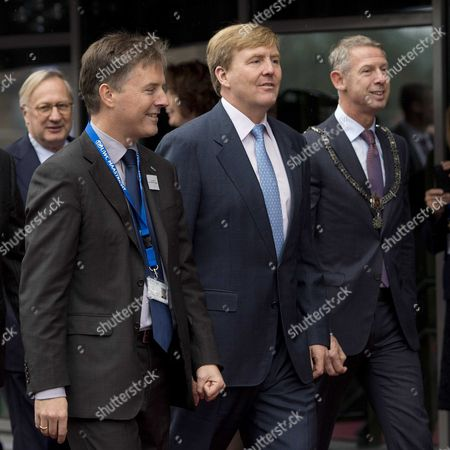 Editorial photo of Netherlands Royalty - Oct 2013
