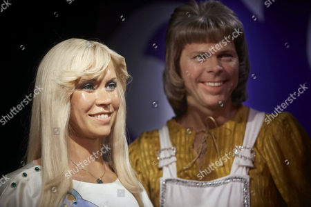 The New Wax Figures of Agnetha Faltskog (l) and Bjorn Ulvaeus From Swedish Band Abba Are Presented to the Public at Madame Tussauds Wax Museum in Amsterdam the Netherlands 10 July 2013 Netherlands Amsterdam