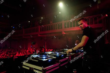 Dutch Dj and Producer Nick Van De Wall Aka Afrojack Performs at Paradiso on the First Day of the Amsterdam Dance Event (ade) in Amsterdam the Netherlands 17 October 2012 the Ade Features 800 Artists Performing 300 Events at 75 Different Clubs in Amsterdam Netherlands Amsterdam
