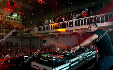 Dutch Dj and Producer Nick Van De Wall Aka Afrojack Performs at Paradiso on the First Day of the Amsterdam Dance Event (ade) in Amsterdam the Netherlands 17 October 2012 the Ade Includes 800 Artists Performing 300 Events at 75 Different Clubs in Amsterdam Netherlands Amsterdam