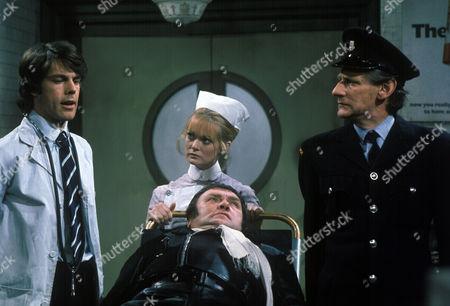 'Dawson's Weekly'  TV - 1975 - Accident Prone - Richard Morant, Georgina Moon, Les Dawson and Gordon Rollings.