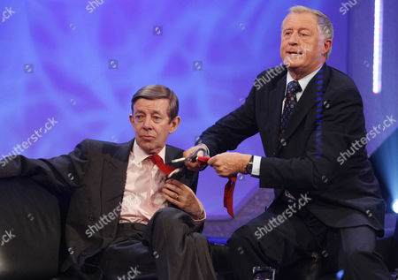 'An Audience Without Jeremy Beadle'  TV - 2008 -  Henry Kelly and Chris Tarrant