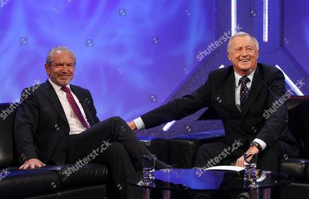 'An Audience Without Jeremy Beadle'  TV - 2008 -  Sir Alan Sugar and Chris Tarrant