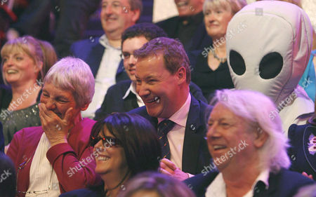 Stock Image of 'An Audience Without Jeremy Beadle'  TV - 2008 -   Janet Elford was Beadled by Jeremy in the famous Alien sketch.