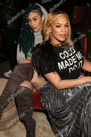 Keke Wyatt and Faith Evans